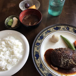 洋食屋満里奈 - ハンバーグランチ