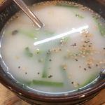 江古田ホルモン - コムたんスープシロ 味は普通?