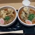 太田強戸PA フードコート - 舞茸天蕎麦