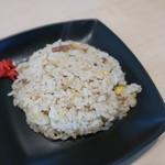 我流麺 真舍 - Aセットのハーフ炒飯 2019.11月