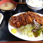 味処 東 - ソースカツ定食@850円