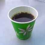 森のくまさん - サービスのコーヒー