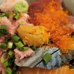 個室居酒屋 酒蔵季 - 海鮮丼です