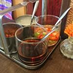 Mangosuchin - 赤系の調味料