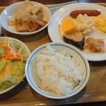 ルートイン - 料理写真:朝食例