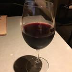 118915372 - 赤ワイングラス