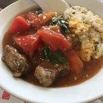 李園 - 牛トマト炒飯