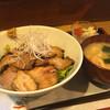 九 - 料理写真:豚チャーシュー丼