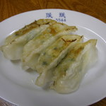 みんみん - (ラーメン定食)餃子