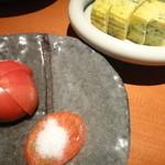 美久馬 - 生トマトと出し巻玉子