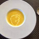 パッパーレ - ●スープ 500円 栗かぼちゃのスープ