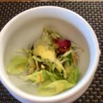 パッパーレ - ●パスタランチ 2,000円 トリュフボウルに入ったサラダ