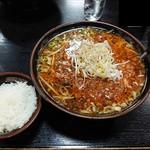 味の終着駅 次郎長 - 2019年10月 きのこ坦々めん 950円