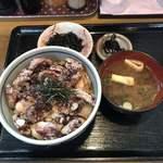 海鮮食堂 魚増 - 料理写真:タコ天丼定食1500円