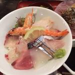 いけすやまもと - 海鮮丼アップ
