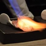 神戸炉釜工房 - 炙り中