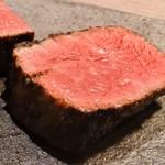神戸炉釜工房 - 神戸牛サーロイン