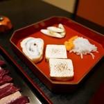 会津郷土食 鶴我 - すき焼き風桜鍋