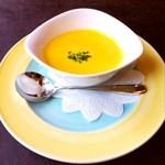 11893022 - プレミアムコースのかぼちゃスープ