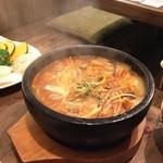 ホルモンマン - 豆腐チゲスープ