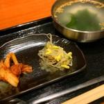 118930445 - キムチ・ナムル・スープ