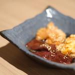 近江うし 焼肉 にくTATSU - 本日のホルモン3種