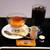 コーヒー ドン - 料理写真:アイスコーヒーとプリンを注文。