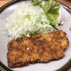 とん水 - 料理写真:とん水(ロースカツ定食)