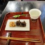 野の花 - 日本酒セット(1100円)