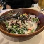 夜景 チーズとお肉のソラバル - 本日の気まぐれサラダ