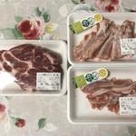 ひこま豚食堂&精肉店 Boodeli - 肩ロースとゲタ