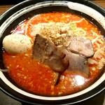 うま二郎 - うま二郎らー麺味玉付き上級880円