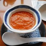 謝朋殿 - うに色の濃厚スープ