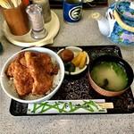 お食事処 水月 - かつ丼 ¥800