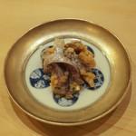 鮨 なんば - アジと生姜、葱