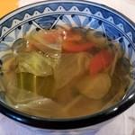メヒコリンド - 野菜のスープ 素朴なあじ