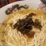 虎と龍 - 替え玉&ピリ辛高菜
