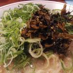 虎と龍 - ネギバカ&ピリ辛高菜