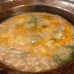 ホルモン鍋 暖 - 雑炊の