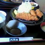 六角堂 - コンビカツ定食