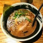 麺場 浜虎 - こく醤そば大盛りのこんにゃく麺変更