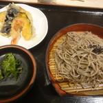 良彌 - お蕎麦+天ぷら