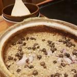 和N - 安城のむかご 鶏麹漬け 麦麹出汁 土鍋ご飯