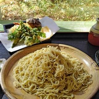 手打ち蕎麦処ぼちぼち - 料理写真:金ぷら蕎麦
