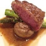 セル ドール - 肉料理:和牛フィレのロティ