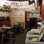 イタリアン酒場ナチュラ - イタリアンというよりガッツリ居酒屋の店内