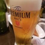 イタリアン酒場ナチュラ - 生ビール