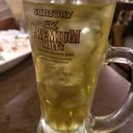 イタリアン酒場ナチュラ - 緑茶ハイ