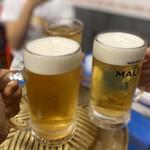 Taiyataikaokaokao - シンハー生ビール