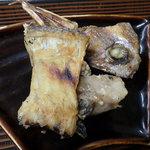 小笠原食堂 - 間違って提供された真鯛焼物